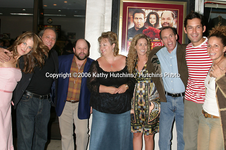"Cast & Crew.including.Meredith Pegula, ?, Jason Alexander, Michelle Danner,  Meghan Daly, Brian Drillinger, Enrique Marciano, and Meredith Scott Lynn.""How to Go On a Date In Queens"" LA Screening.Laemmle's Music Hall.Beverly Hills, Ca.July 28, 2006.©2006 Kathy Hutchins / Hutchins Photo...."