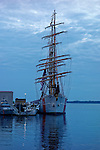 US Coast Guard Barque Eagle, Rockland, Maine, USA