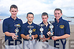 ABOVE: The Glen-.Ballinskelligs minor crew.who won the Clubs first.ever Regatta at Ballinskelligs.on Sunday last. From.l-r: Micheal O'Sullivan,.Emmett Curran, PJ Curran.and John F O'Shea.