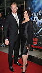"HOLLYWOOD, CA. - June 08: Alexander Skarsgard and Michelle Forbes arrive at HBO's ""True Blood"" Season 3 Premiere at ArcLight Cinemas Cinerama Dome on June 8, 2010 in Hollywood, California."