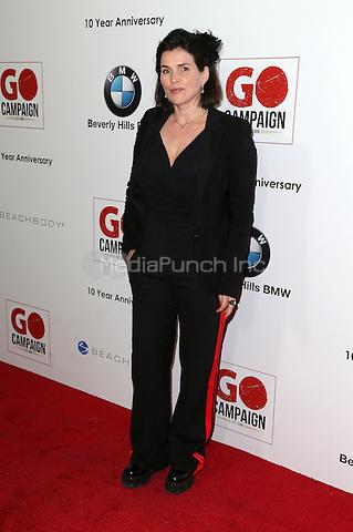 Los Angeles, CA - NOVEMBER 05: Julia Ormond at The 10th Annual GO Campaign Gala in Los Angeles At Manuela, California on November 05, 2016. Credit: Faye Sadou/MediaPunch