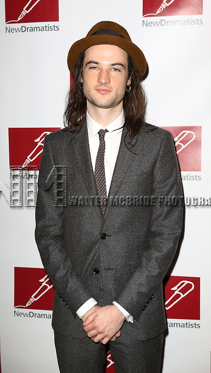Tom Sturridge attending The New Dramatists 64th Annual Spring Luncheon at the Marriott Marquis Hotel in New York City on May 21, 2013.