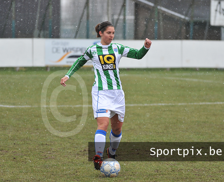 Club Brugge Dames - PEC Zwolle : Jolijn Heuvels.foto DAVID CATRY / Vrouwenteam.be