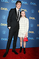 LOS ANGELES - FEB 2:  Bo Burnham, Elsie Fisher at the 2019 Directors Guild of America Awards at the Dolby Ballroom on February 2, 2019 in Los Angeles, CA