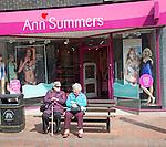 Ann Summers shop in central Ipswich, Suffolk, England, UK