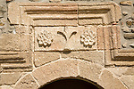 Architectural detail Church of the Dormition of the Virgin, Asklipio, Rhodes, Greece