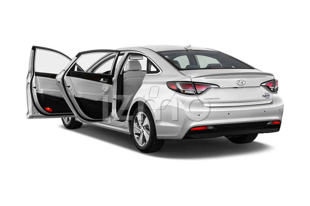 Car images of 2016 Hyundai Sonata-Plug-in-Hybrid Limited 4 Door Sedan Doors