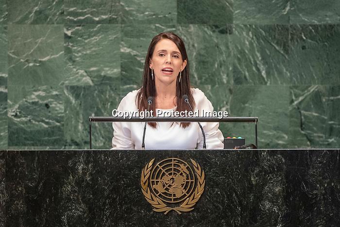 LOS general debate – 27 September<br /> <br /> PM<br /> <br /> Her Excellency Jacinda Ardern, Prime Minister, New Zealand