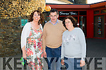 Enjoying the St John Of God's production of 'I HAVE A DREAM' in Siamsa Tire were Lisa Cronin,Michael Cremins and Helen Prenderville