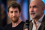 "Pablo Matos and Fernando Jerez during the presentation of the new TV program to Movistar+,  "" Likes "" at 7 y accion studios in Madrid. January 27, 2016.<br /> (ALTERPHOTOS/BorjaB.Hojas)"