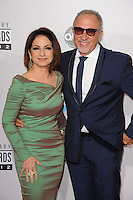 LOS ANGELES, CA - NOVEMBER 18: Gloria Estefan, Emilio Estefan at The 40th Annual American Music Awards at The Nokia Theater LA Live, in Los Angeles, California. November 18, 2012. Photo by: mpi99/MediaPunch Inc. NortePhoto