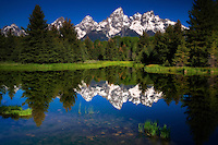 Schwabacher Landing photographed by Gina Genis, Grand Tetons, 2009