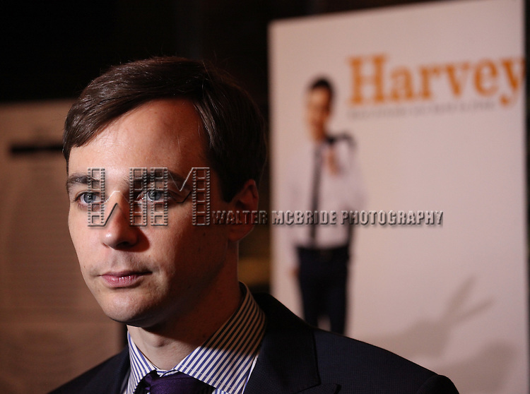 "Jim Parsons.pictured at the Opening Night After Party for the Roundabout Theatre Company's Broadway Production of  ""Harvey"" at Studio 54 New York City June 14, 2012"