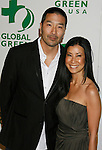 HOLLYWOOD, CA. - February 19: TV Personality Lisa Ling (R) and husband Dr. Paul Song arrive at Global Green USA's 6th Annual Pre-Oscar Party held at Avalon Hollwood on Februray 19, 2009 in Hollywood, California.