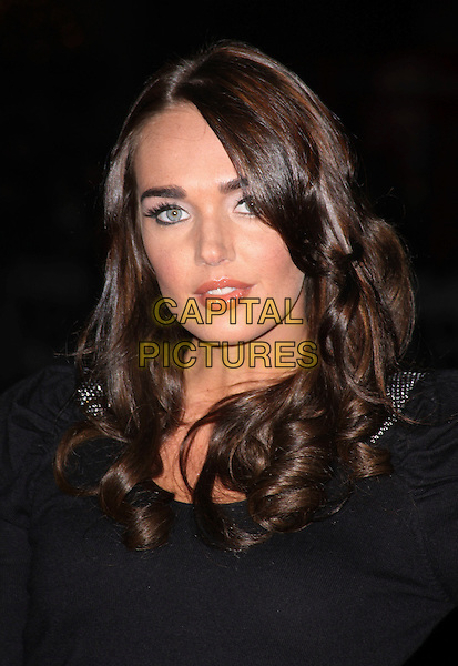 TAMARA ECCLESTONE .attending the European Premiere of 'Harry Brown' at the Odeon Leicester Square, London, England, UK, November 10th 2009. .portrait headshot black .CAP/AH.©Adam Houghton/Capital Pictures.