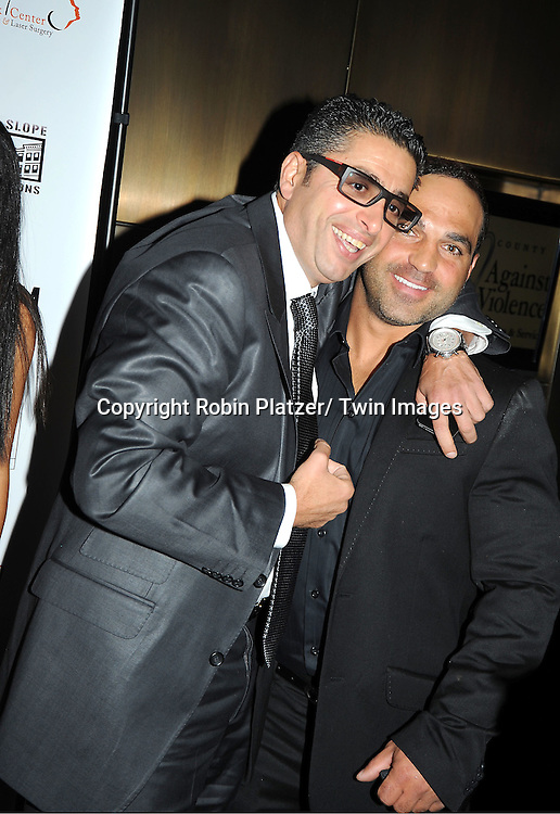 Rich Wakile and Joe Gorga attend  The About Face Benefit for Domestic Violence Survivors on October 20, 2011 at the Trump Soho Hotel.in New York City.