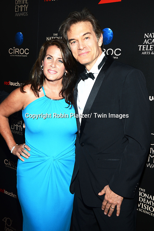 Lisa and Dr Mehmet Oz attends The 40th Annual Daytime Emmy Awards on<br />  June 16, 2013 at the Beverly Hilton Hotel in Beverly Hills, California.