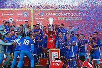 Futbol 2017 Clausura Campeón Universidad de Chile