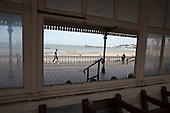Missing window in a seafront shelter, Margate.