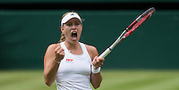 ANGELIQUE KERBER (GER)<br /> <br /> The Championships Wimbledon 2014 - The All England Lawn Tennis Club -  London - UK -  ATP - ITF - WTA-2014  - Grand Slam - Great Britain -  30th June 2014. <br /> <br /> &copy; AMN IMAGES