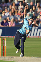 Chris Nash in bowling action for Sussex - Essex Eagles vs Sussex Sharks - Friends Life T20 Cricket at the Ford County Ground, Chelmsford, Essex - 28/06/12 - MANDATORY CREDIT: Gavin Ellis/TGSPHOTO - Self billing applies where appropriate - 0845 094 6026 - contact@tgsphoto.co.uk - NO UNPAID USE.