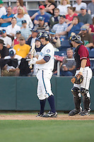 July 4, 2009: Everett AquaSox catcher Guy Welsh at-bat during a Northwest League game against the Yakima Bears at Everett Memorial Stadium in Everett, Washington.
