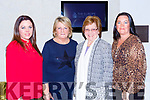 Hiliary O'Brien, Joan Cronin, Margaret O'Brien and Lisa Cronin at the Fashion Extrazganza show in the Hotel Europe on Tuesday night