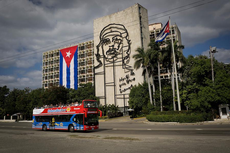 Plaza de la Revolucion, Havana, Cuba.