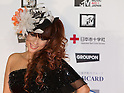 June 25, 2011 - Chiba, Japan - DJ Kaori poses on the red carpet during the MTV Video Music Aid Japan event. Japanese and foreign stars attend this charity concert in support for the victims of the March 11 earthquake and tsunami that rocked the northeast region of Japan. (Photo by Christopher Jue/AFLO)