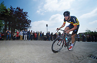 Heistse Pijl 2013<br /> <br /> Tom Boonen (BEL) breaking away from the peloton