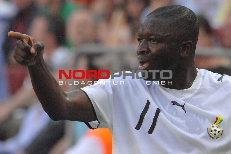 FIFA WM 2006 -  Gruppe E Vorrunde ( Group E )<br /> Play     #26 (17-Jun) - Tschechien - Ghana<br /> <br /> Sulley Muntari (GHA)<br /> <br /> Foto &copy; nordphoto