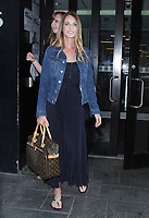 NEW YORK, NY August 09: Catherine Oxenberg seen after an appearance at Good Day New York to talk about how she saved her daughter India from NXIVM Sex Cult on August 09, 2018 in New York City. <br /> CAP/MPI/RW<br /> &copy;RW/MPI/Capital Pictures