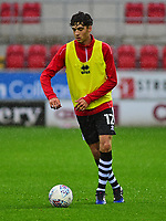 Ellis Chapman during the pre-match warm-up <br /> <br /> Photographer Andrew Vaughan/CameraSport<br /> <br /> The Carabao Cup First Round - Rotherham United v Lincoln City - Tuesday 8th August 2017 - New York Stadium - Rotherham<br />  <br /> World Copyright &copy; 2017 CameraSport. All rights reserved. 43 Linden Ave. Countesthorpe. Leicester. England. LE8 5PG - Tel: +44 (0) 116 277 4147 - admin@camerasport.com - www.camerasport.com