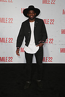 "9 August 2018-  Westwood, California - PK Subban. Premiere Of STX Films' ""Mile 22"" held at The Regency Village Theatre. Photo Credit: Faye Sadou/AdMedia"