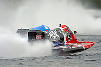 Tim Seebold (#16) and Jose Mendana, Jr. (#21)     (Formula 1/F1/Champ class)