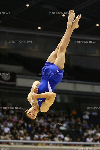 Kenzo Shirai (JPN), <br /> June 30, 2013 - Artistic Gymnastics : <br /> The 67th All Japan Artistic Gymnastics Apparatus Championship, Men's Floor Final <br /> at Tokyo Metropolitan Gymnasium, Tokyo, Japan. <br /> (Photo by Daiju Kitamura/AFLO SPORT)