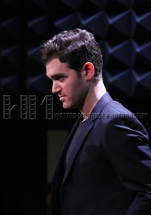 Constantine Germanacos in rehearsal for 'The Lord & The Master - Broadwayworld.com sings Andrew Lloyd Webber & Stephen Sondheim'  at Joe's Pub on June 16, 2014 in New York City.