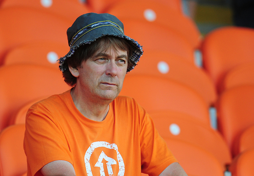 Blackpool fans enjoy the pre-match build up<br /> <br /> Photographer Kevin Barnes/CameraSport<br /> <br /> Football - The EFL Sky Bet League Two - Blackpool v Exeter City - Saturday 6th August 2016 - Bloomfield Road - Blackpool<br /> <br /> World Copyright &copy; 2016 CameraSport. All rights reserved. 43 Linden Ave. Countesthorpe. Leicester. England. LE8 5PG - Tel: +44 (0) 116 277 4147 - admin@camerasport.com - www.camerasport.com