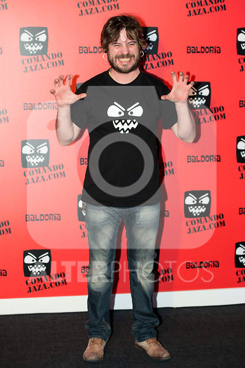 Javier Collado attends the presentation of the brand &quot;Comando Jaza&quot; in Madrid, December 14, 2015<br /> (ALTERPHOTOS/BorjaB.Hojas)