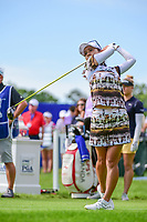 Ai Miyazato (JPN) watches her tee shot on 1 during Thursday's round 1 of the 2017 KPMG Women's PGA Championship, at Olympia Fields Country Club, Olympia Fields, Illinois. 6/29/2017.<br /> Picture: Golffile | Ken Murray<br /> <br /> <br /> All photo usage must carry mandatory copyright credit (&copy; Golffile | Ken Murray)