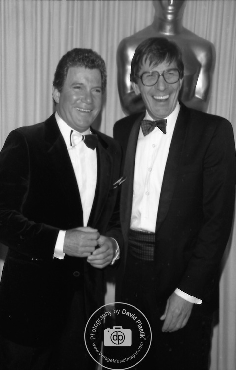 William Shatner, Leonard Nimoy, Star Trek, Academy Awards,