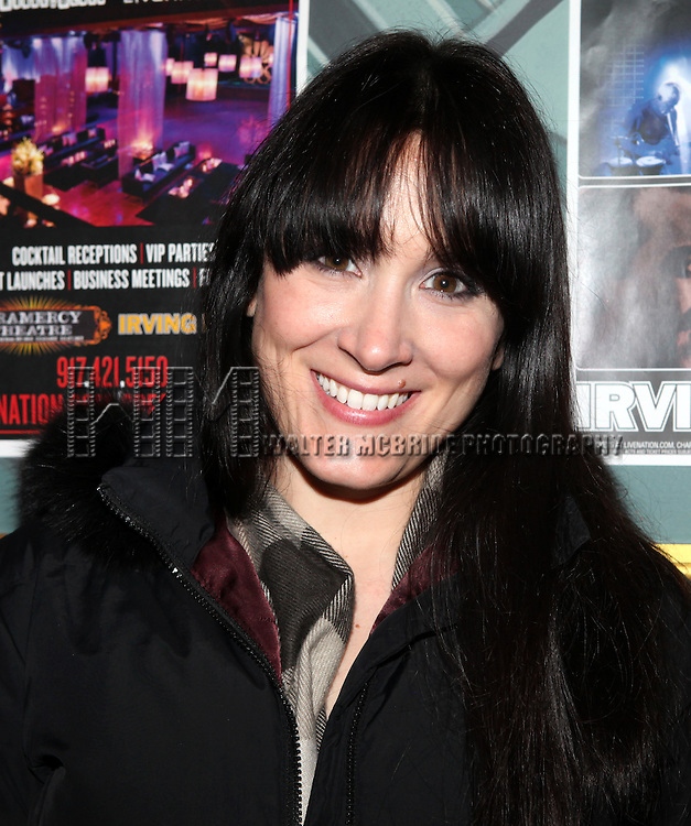 Dee Roscioli attending The 24 Hour Musicals After Party at the Gramercy Theatre in New York City.