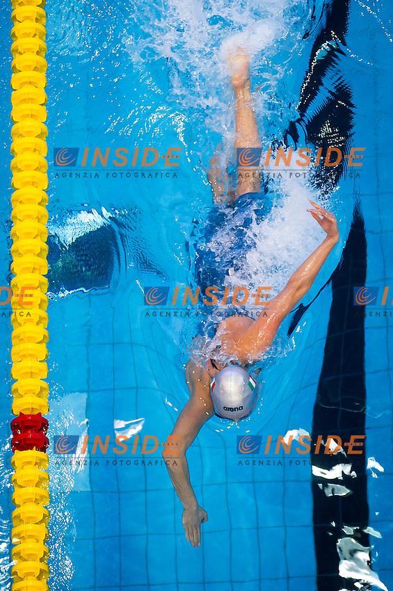 PELLEGRINI Federica ITA<br />Women's 200m freestyle heats<br />Netanya, Israel, Wingate Institute<br />LEN European Short Course Swimming Championships <br />Dec. 2 - 6, 2015 Day 04 Dec.05<br />Nuoto Campionati Europei di nuoto in vasca corta<br />Photo Giorgio Perottino/Deepbluemedia/Insidefoto