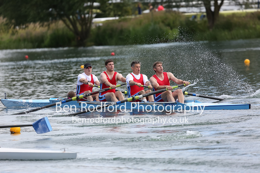 Race: 68: MasC/D 4+  Final<br /> <br /> Peterborough Summer Regatta 2017 - Sunday<br /> <br /> To purchase this photo, or to see pricing information for Prints and Downloads, click the blue 'Add to Cart' button at the top-right of the page.