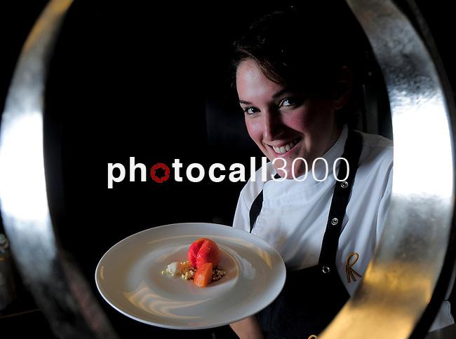 La Chef mejicana Amanecer Ramirez del Restaurante El Celler de Can Roca