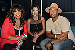 MIAMI, FL - MAY 29: Kym Whitley, Guest and Abebe Lewis backstage at the 9th Annual Memorial Weekend Comedy Festival at James L Knight Center on May 29, 2016 in Miami, Florida. ( Photo by Johnny Louis / jlnphotography.com )
