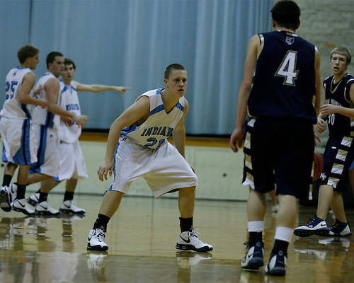 Saint Joseph's High School Varsity Basketball 2008.