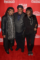 "LOS ANGELES - JAN 30:  Jeffrey Anderson-Gunter, Reginald VelJohnson, Kiki Shepard at the ""Hello Dolly!"" Los Angeles Opening night at the Pantages Theater on January 30, 2019 in Los Angeles, CA"