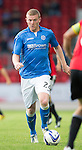 St Johnstone v FC Spartak Trnava...31.07.14  Europa League 3rd Round Qualifier<br /> Brian Easton<br /> Picture by Graeme Hart.<br /> Copyright Perthshire Picture Agency<br /> Tel: 01738 623350  Mobile: 07990 594431