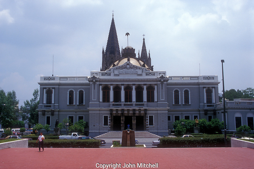 University of Guadalajara old administration building, Guadalajara, Jalisco, Mexico